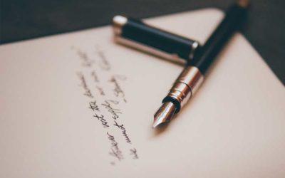 Brief met laatste wens